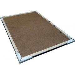 Quadro Doces Pirulito Chocolate Balas Goma Moldura 30x40cm