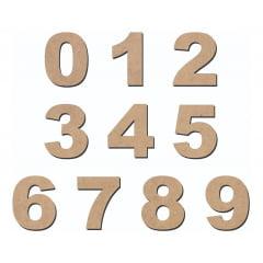Números Em Mdf 5cm De Altura Kit 50 Numeros