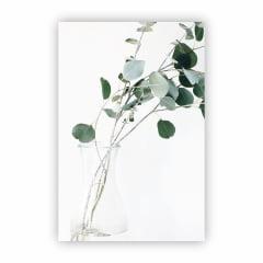 Quadro Canvas Fotografia de Planta Minimalista 30x40cm