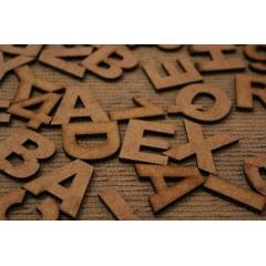 Kit Especial Alfabeto C/ 200 Letras Mdf 6mm - 5 Cm De Altura