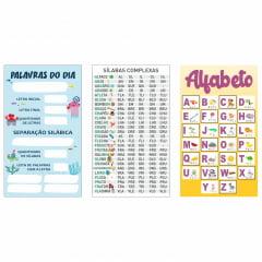 Kit de Banners Pedagógicos Escolares para Língua Portuguesa