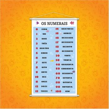 Banner Pedagógico - Numerais Zero a 100 (0 a 100)