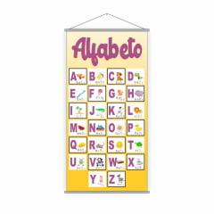 Kit de 3 Banners Escolares Pedagógicos para Língua Portuguesa