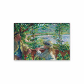 Quadro Near the Lake Pierre-Auguste Arte Canvas