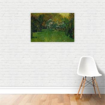 Quadro O Jardim do Poeta Van Gogh Arte Canvas