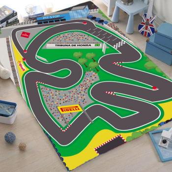 Pista para Carrinhos Miniatura Autódromo Fórmula 1