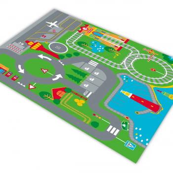 Pista para Carrinhos HOTCARS Estação Aeroporto Viagem