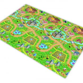 Pista para Carrinhos HOTCARS Grandes Castelos Fazendas Labirintos